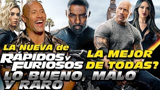Dwayne Johnson La Roca en entrevista de HOBBS Y SHAW (Close Up)