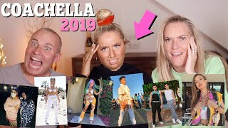 ROASTING And Reacting To YOUTUBERS Coachella Outfits 2019!! Ft My Family!!😱