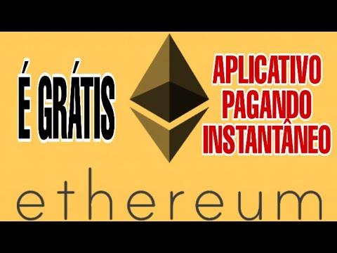 ETHEREUM GRÁTIS -  MELHOR APP COM PAGAMENTO INSTANTÂNEO - Money no Paypal