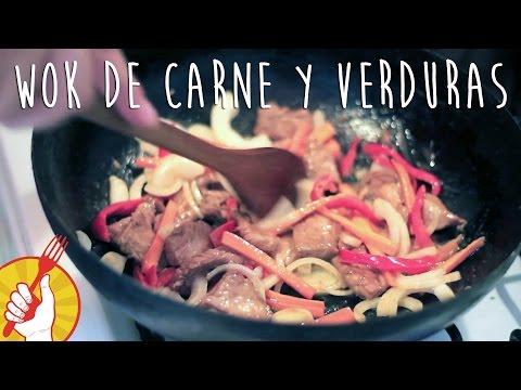 Cómo hacer Wok de Carne y Verduras Casero | Receta Fácil | Tenedor Libre