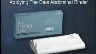 How to use Dale Four Panel 12 Inches Wide Abdominal Binder?
