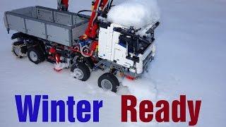 Winter Ready Lego Technic 42043 Mercedes-Benz Arocs 3245 MOD#7