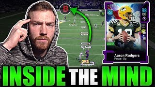 I GLITCHED Aaron Rodgers to throw this TD -- Inside The Mind Ep 12 Madden 20 Ultimate Team Gameplay