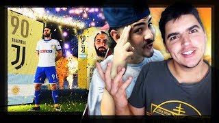 MEGA PACK OPENING COM CASTRO_1021   FIFA 18