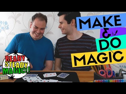 Circus Card Trick | Make & Do Magic | Ready Steady Magic