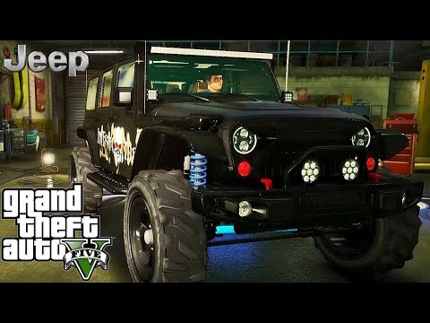 Jeep Wrangler Rubicon Tuning - GTA V MSI GeForce GTX 1080 Ti GAMING X !!!