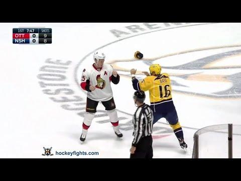 Chris Neil vs Cody Bass
