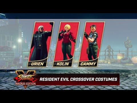 Resident Evil Costumes de Street Fighter V