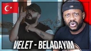 Velet   Beladayım (Official Video) TURKISH RAP MUSIC REACTION!!!