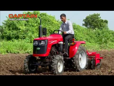Captain Tractor 20hp,120 DI 4wd