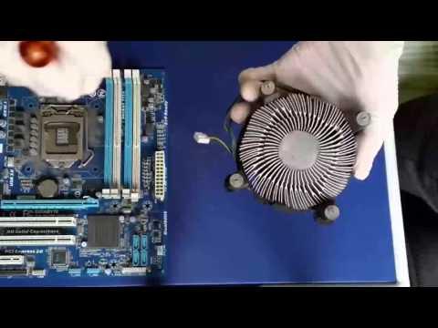 Cómo desmontar un disipador Intel