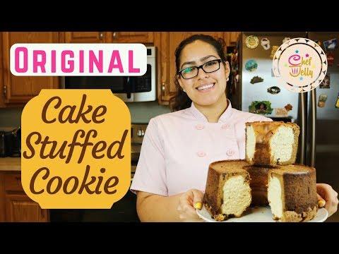 CAKE STUFFED CHOCOLATE CHIP COOKIE - Original Recipe