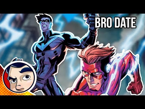 """Nightwing & Flash """"Faster than the Flash"""" – Rebirth Complete Story"""