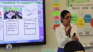 Ingrid Rachals 7th Grade English Language Arts Class
