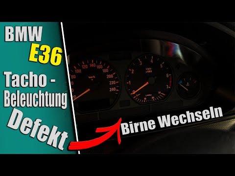 BMW E36 Tacho Beleuchtung Defekt.. Birne wechseln SO GEHTS.