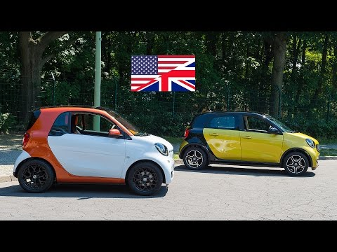 World Premiere 2014 smart fortwo and forfour / walkaround interieur review in-dept