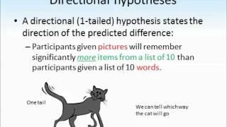 Hypotheses tutorial