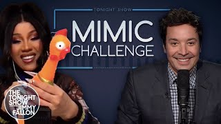 Mimic Challenge with Cardi B thumbnail