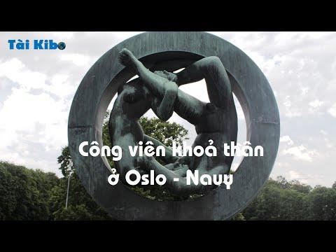 Nude statue park in Oslo - Norway - Tài Kibo