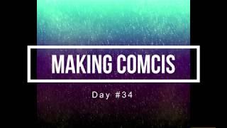 100 Days of Making Comics 34