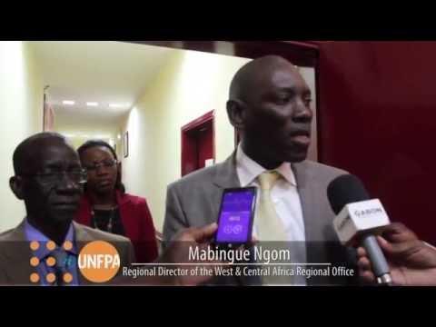 UNFPA WCA Regional Meeting : Audience avec le Min.de la Santé et de la Prévoyance Sociale du Gabon