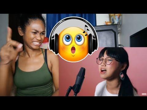 Ariana Grande - 7 Rings (KIM! Cover)   Reaction