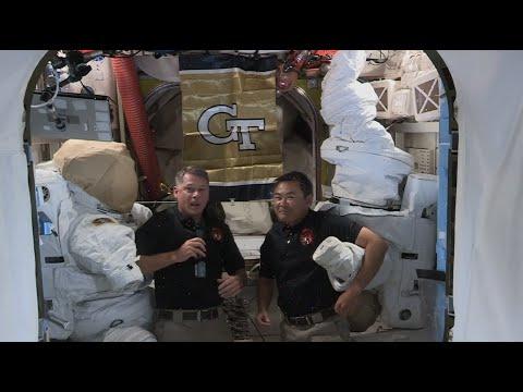 Georgia Tech Talks To Astronauts Shane Kimbrough & Aki Hoshide at the International Space Station