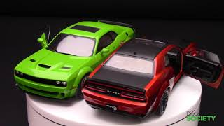 Solido Dodge Challenger SRT Hellcat Redeye & Scat Pack 392