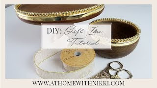 DIY GIFT IDEAS | EASY & AFFORDABLE HOSTESS GIFT
