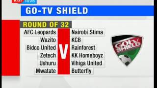 Kenya premier league clubs to lock horns in the GO-TV shield