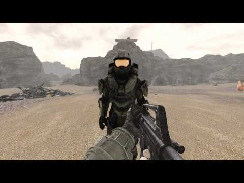 Master Chief Companion Mod Shield Test