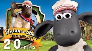 Download Video Shaun the Sheep - ChampionSheeps [20 MINUTE COMPILATION] MP3 3GP MP4