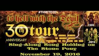 Stryper Sing Along Song Holding On Stone Pony November 19, 2016