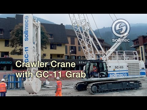 Enlace vídeo Soilmec SC 65 Crawler Crane
