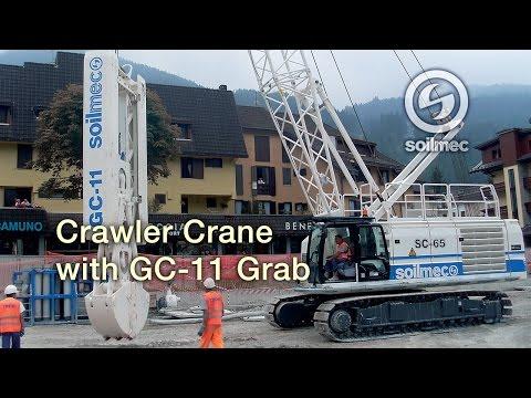 Enlace vídeo Soilmec SC 65 Crawler Crane
