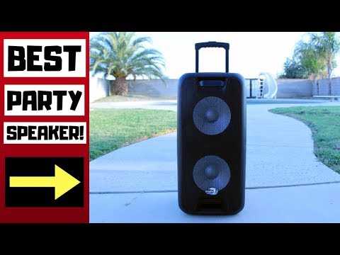 Best Party Speaker – Dolphin Dual 10 Inch Rechargeable Bluetooth Speaker Review! (SP-210RBT)