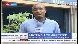 MP, Justus Murunga in custody as Police investigate gang killings in Kakamega