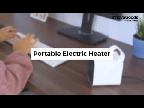 HeatCube bærbar varmevifte