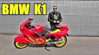 Мотоциклы - легенды XX века. BMW K1 Обзор и тест-райд.