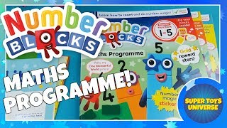 New! NUMBERBLOCKS Maths Programme CBeebies Early Years Numbers & Mathematics