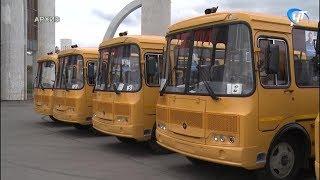 До конца года Новгородская область получит 19 новых школьных автобусов и машин скорой помощи