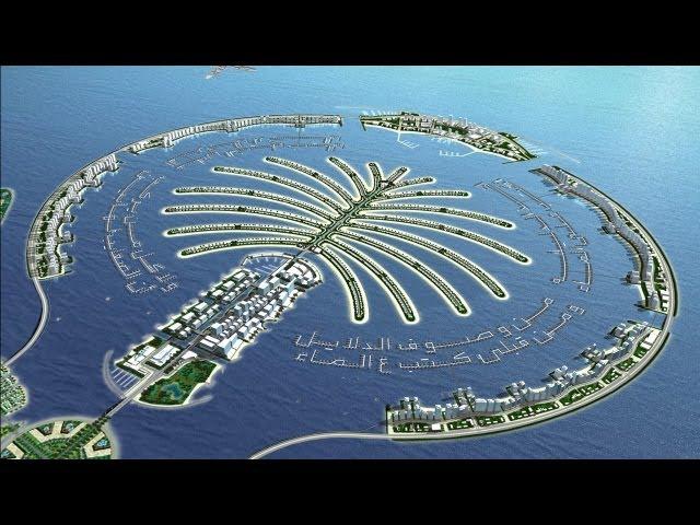 The Palm Island Dubai Uae Megastructure Development