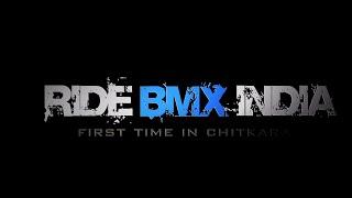 Chitkara university bmx show 2014