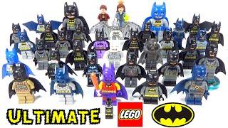 Every LEGO Batman Minifigure Ever Ultimate Collection Rare Comic Con Exclusives + MORE