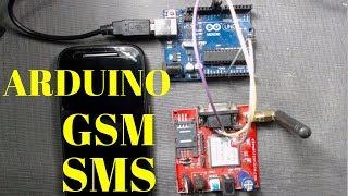 Arduino GSM SMS | Gsm SIM900a tutorial