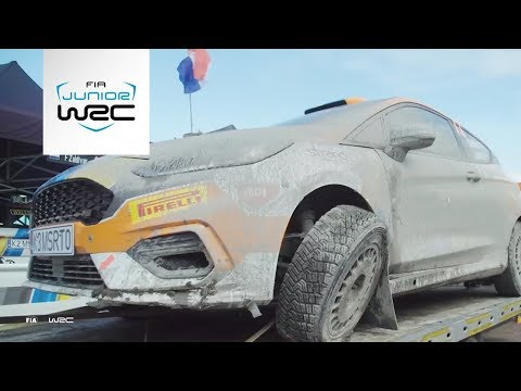Junior WRC - Wales Rally 2019: Friday Highlights