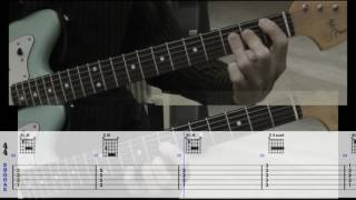 Wichita Lineman (scrolling guitar tabs & chords)