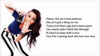 Cher Lloyd - Want U Back /\ Lyrics On A Screen