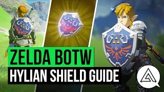 Zelda Breath of the Wild | How to Get the Hylian Shield