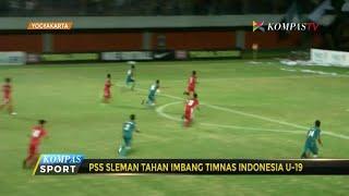 PSS Sleman Tahan Imbang Timnas Indonesia U-19